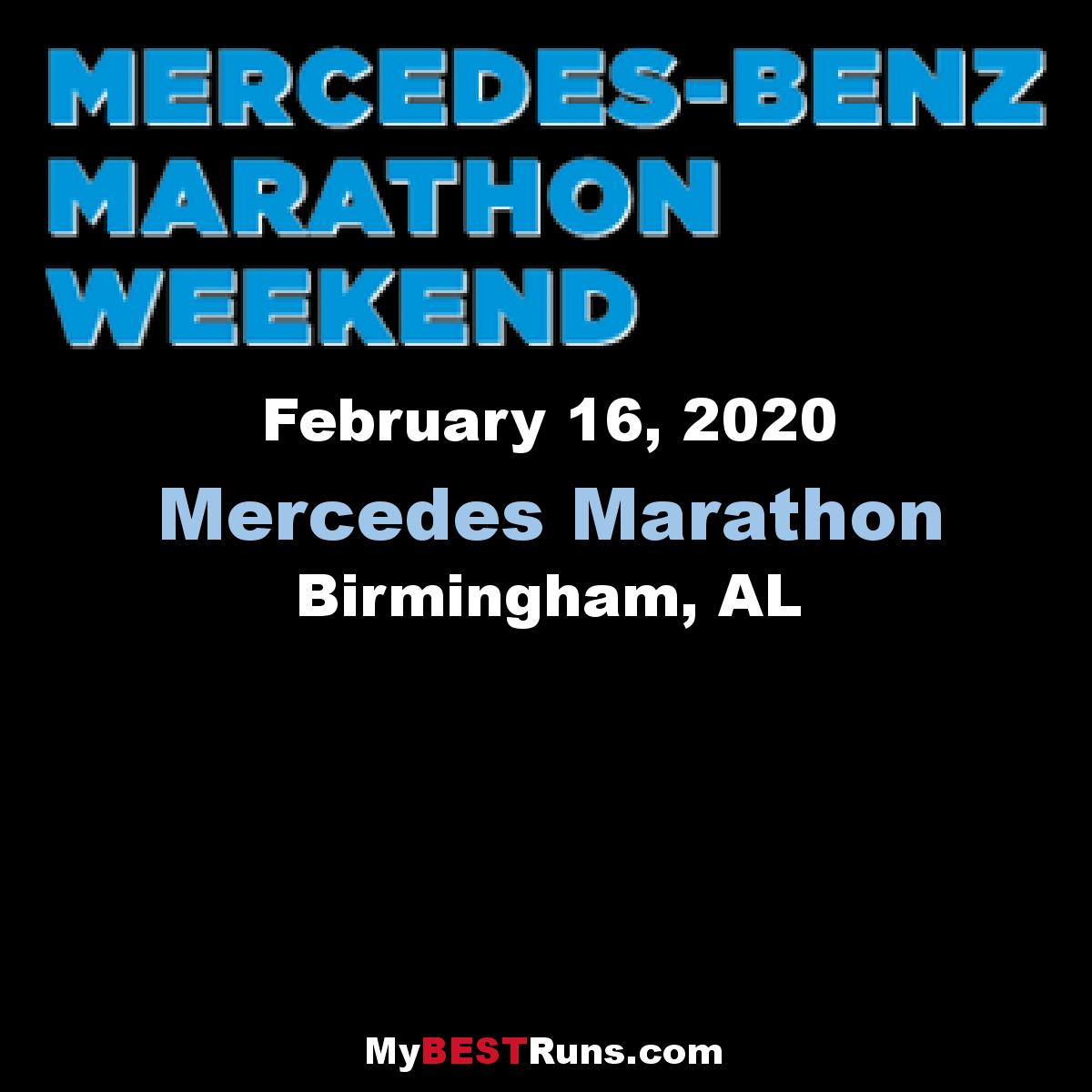 Mercedes marathon birmingham al 2 10 2019 my best for Mercedes benz of birmingham hoover al