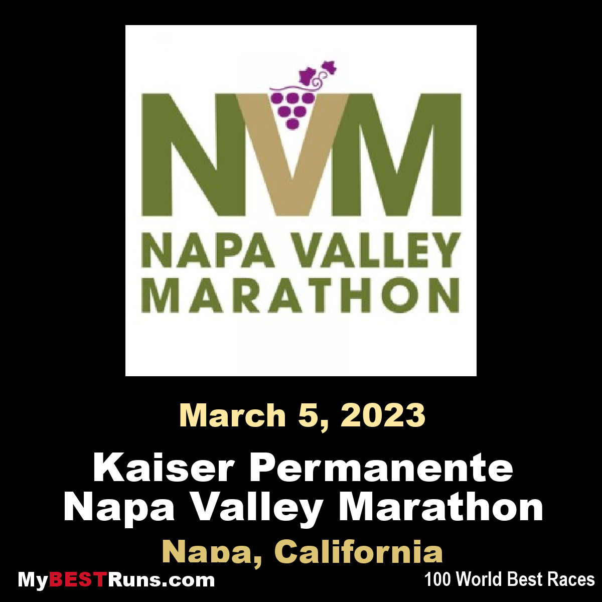Kaiser Permanente Napa Valley Marathon