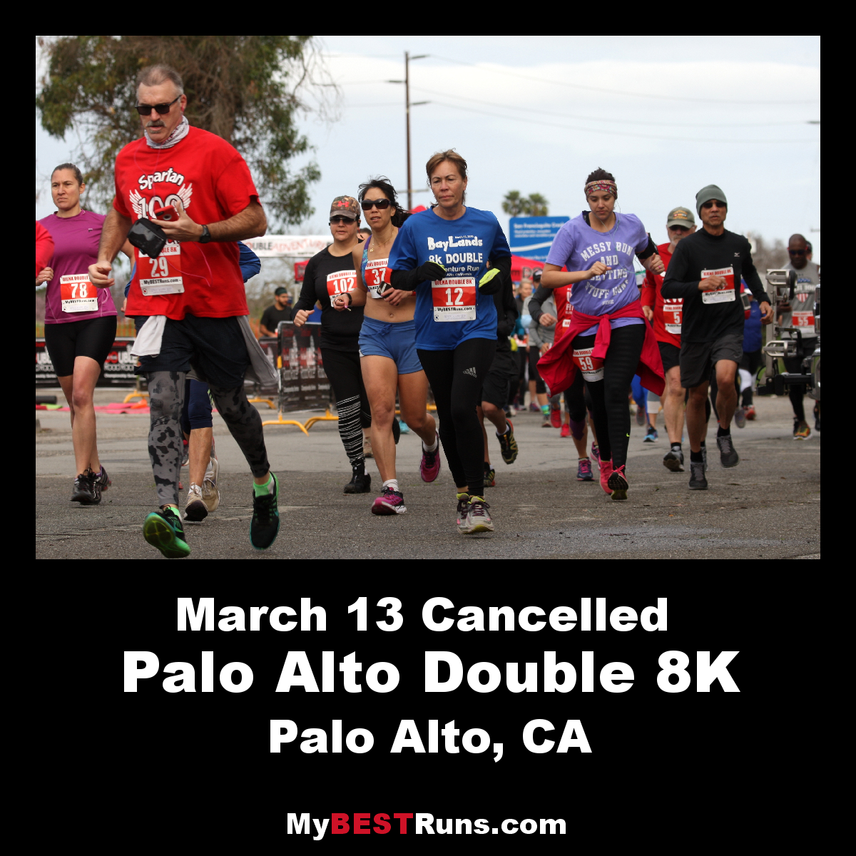 Palo Alto 10K, 5K, Double 8K