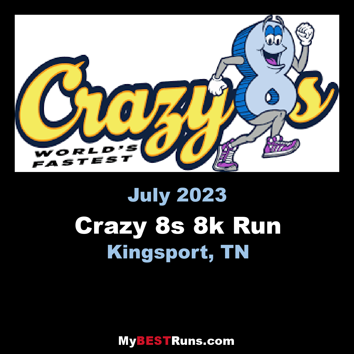 Crazy 8s 8k Run