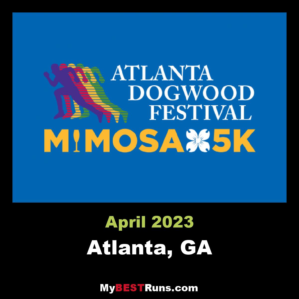 Best Champagne For Mimosas 2020 Atlanta Dogwood Festival Mimosa 5K   Piedmont Park, Atlanta   4/19