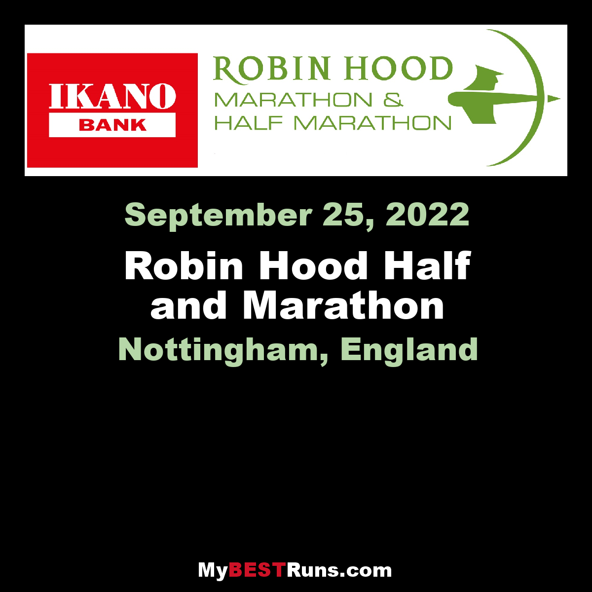 Robin Hood Half and Marathon