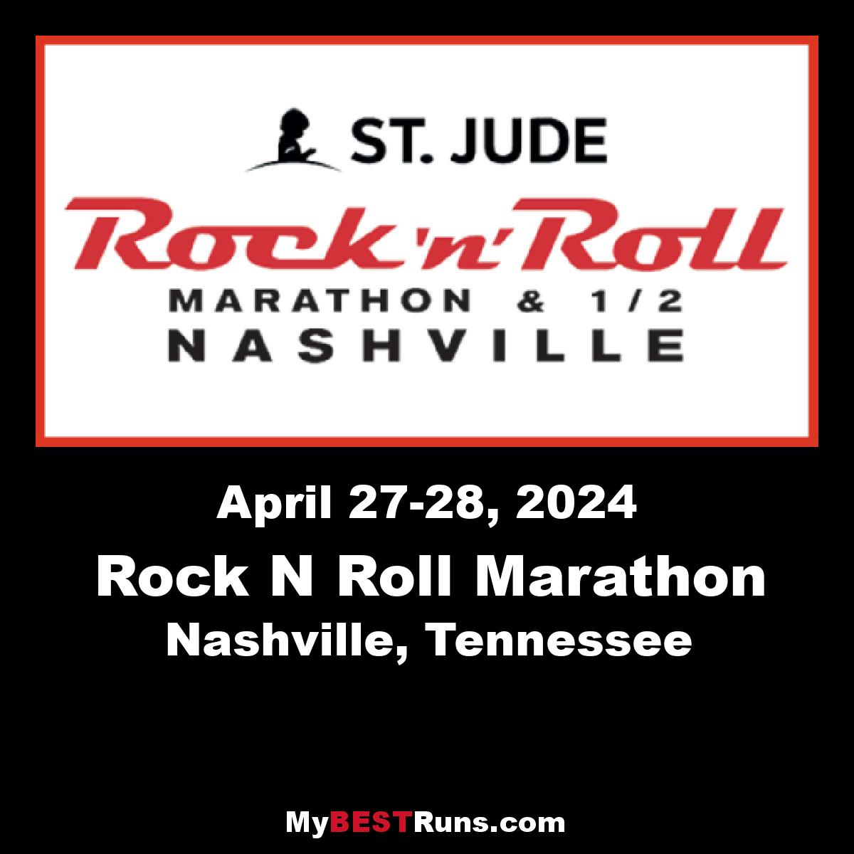 St. Jude Rock 'n' Roll Nashville Marathon & 1/2 Marathon