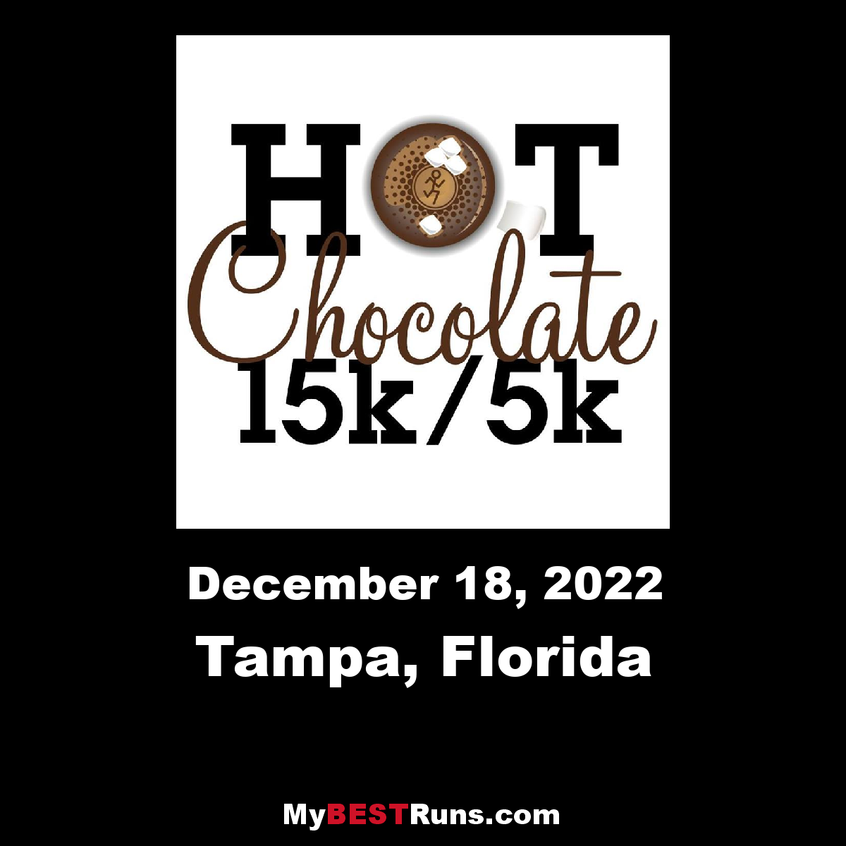 Hot Chocolate Tampa - Tampa, Florida - 12/17/2017 - My BEST Runs ...