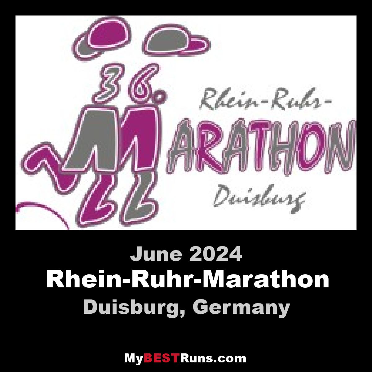 Rhein-Ruhr-Marathon