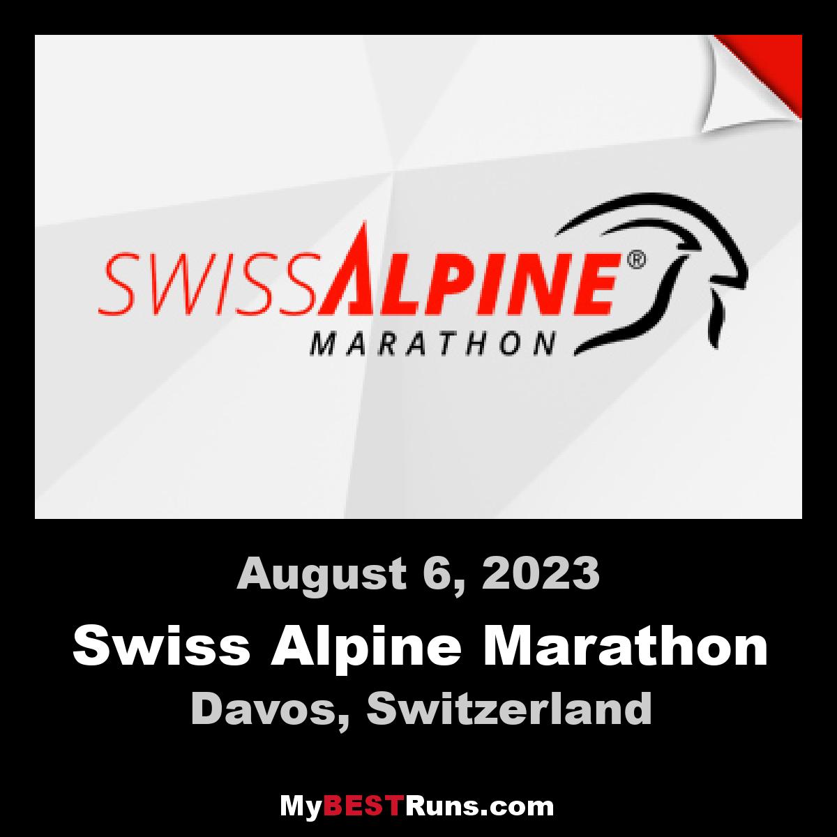 Swiss Alpine Marathon
