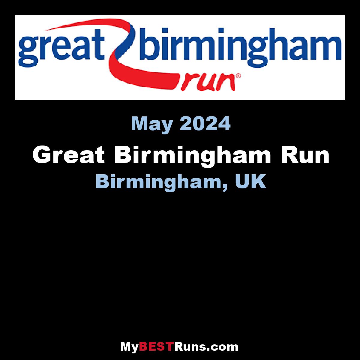 Birmingham International Half Marathon