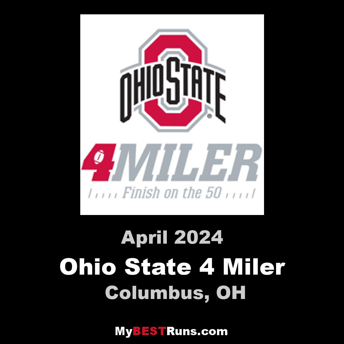The Ohio State 4 Miler