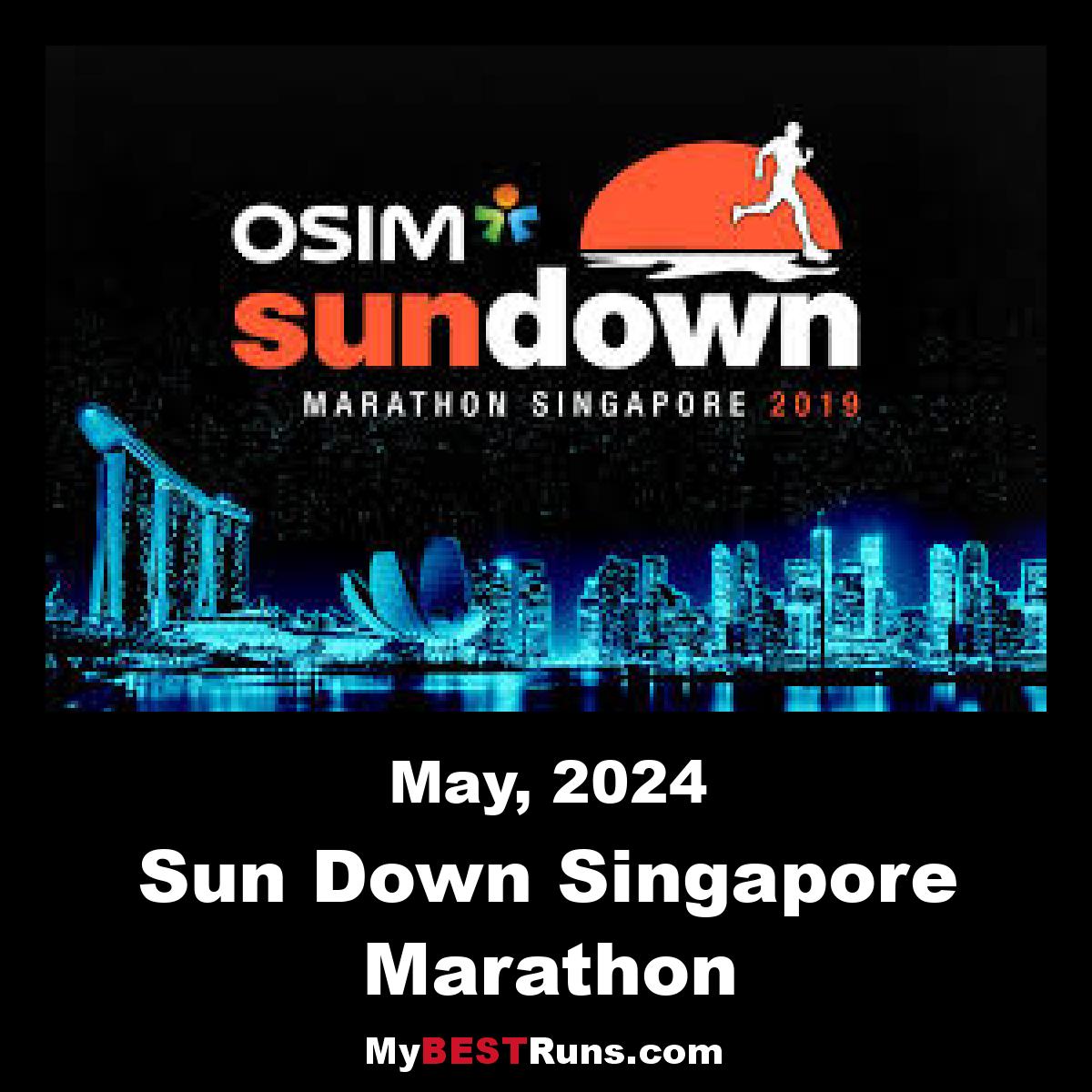 Sun Down Singapore Marathon