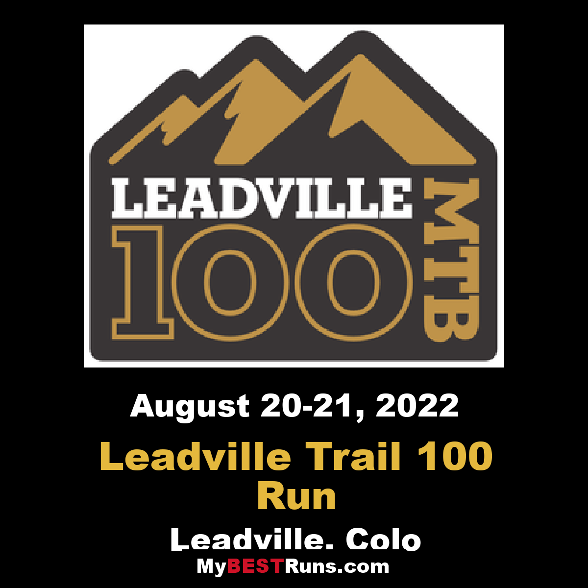 Leadville Trail 100 Run