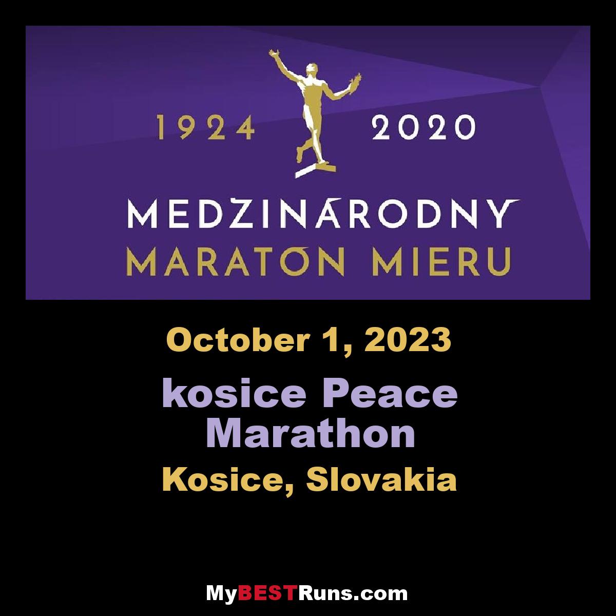 kosice Peace Marathon