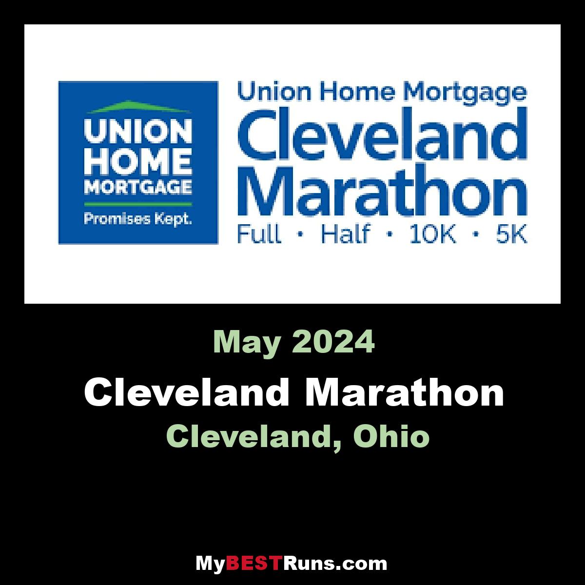 Rite Aid Cleveland Marathon Cleveland OH 5192019 My BEST