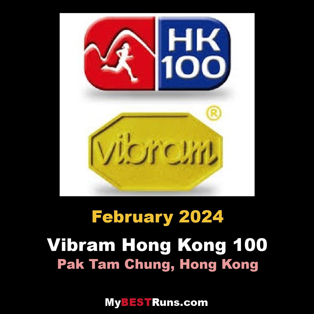 Vibram Hong Kong 100 Ultra trail