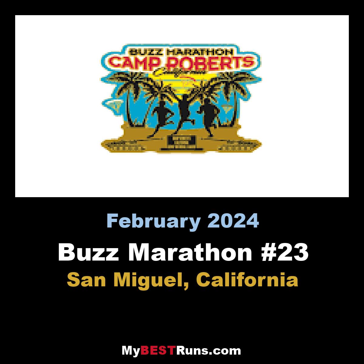 Buzz Marathon #20