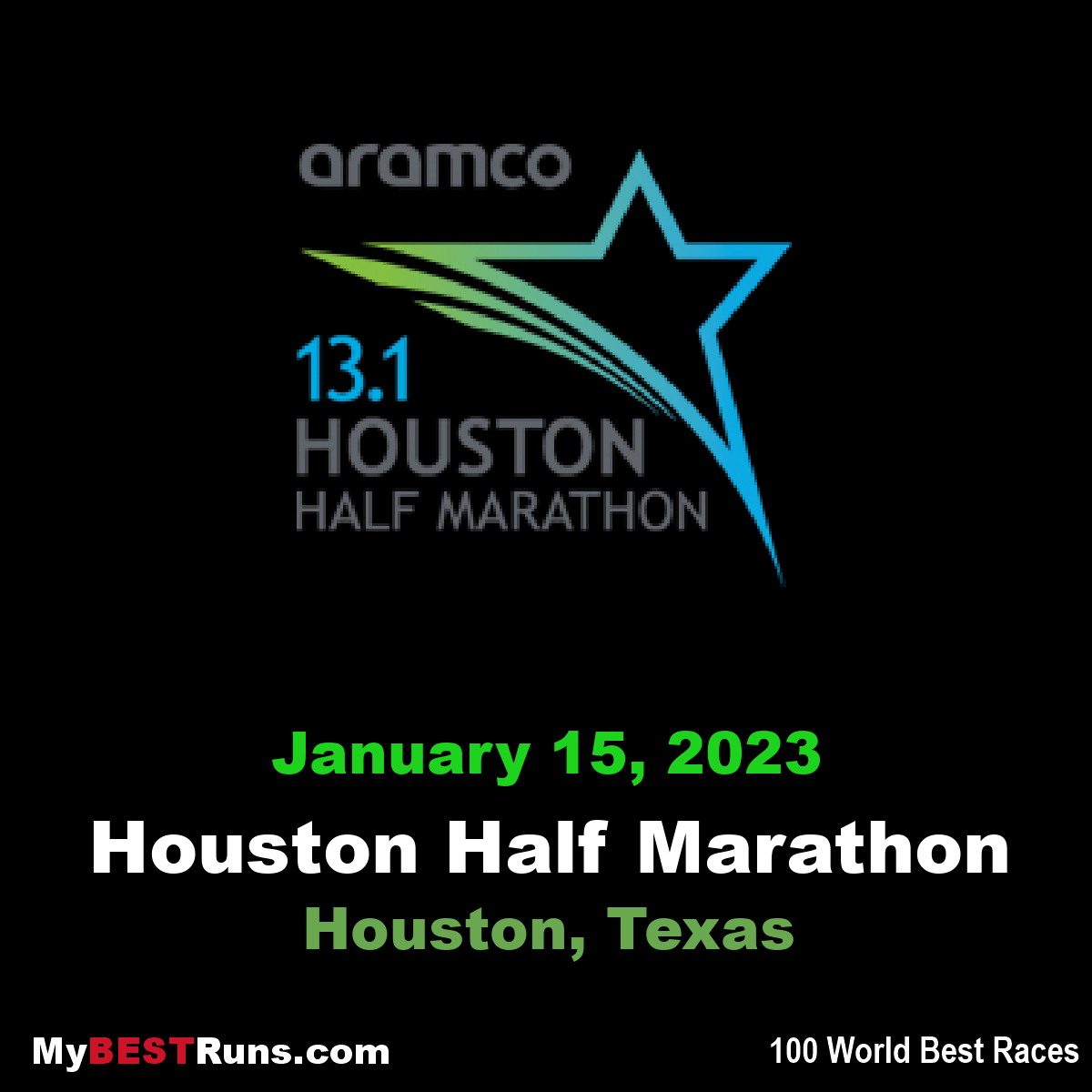 Aramco Houston Half Marathon
