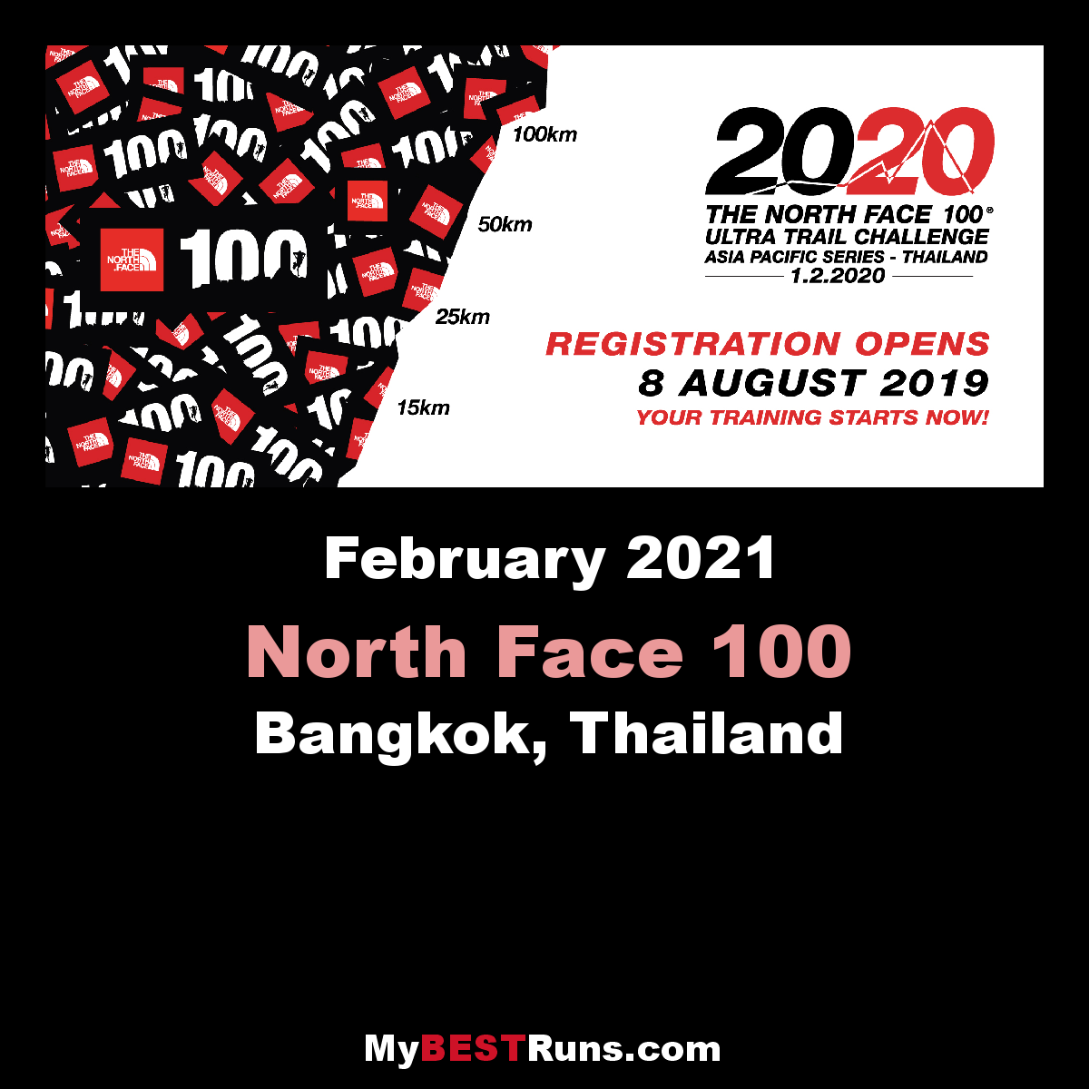 The North Face 100 Thailand
