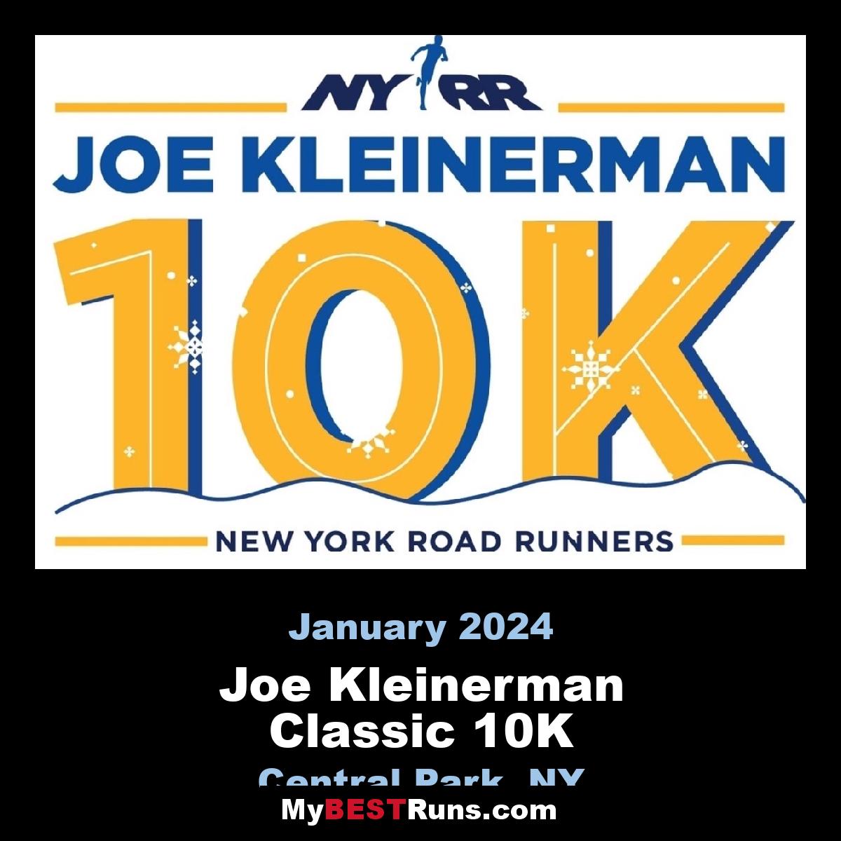 Joe Kleinerman Classic 10K
