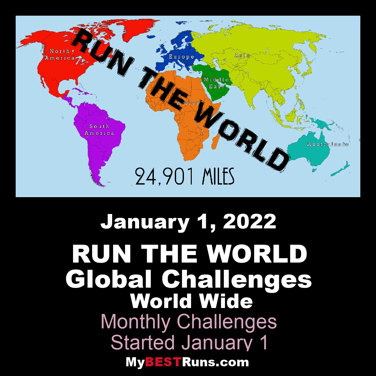 Run The World Global Challenge 8