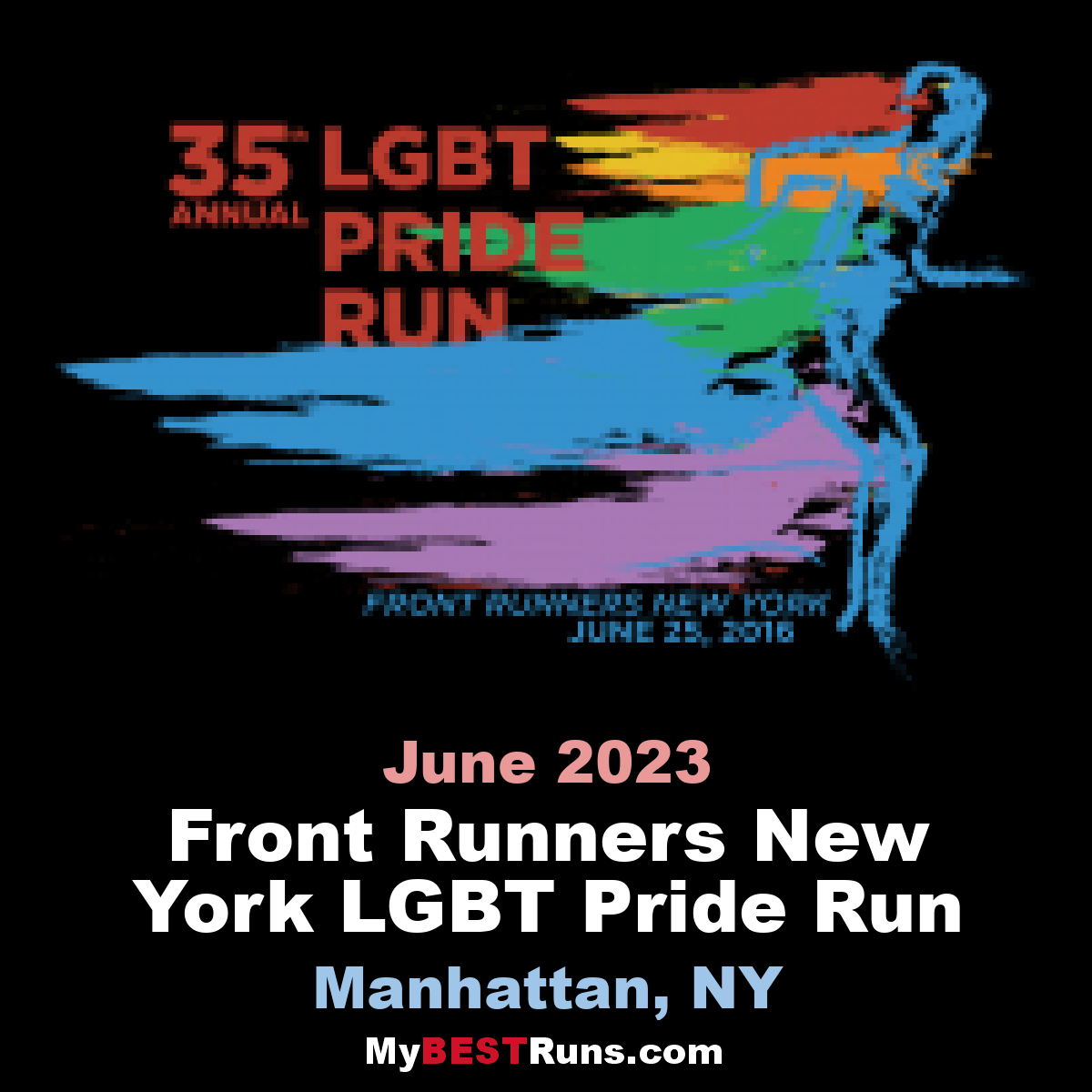 Front Runners New York LGBT Pride Run