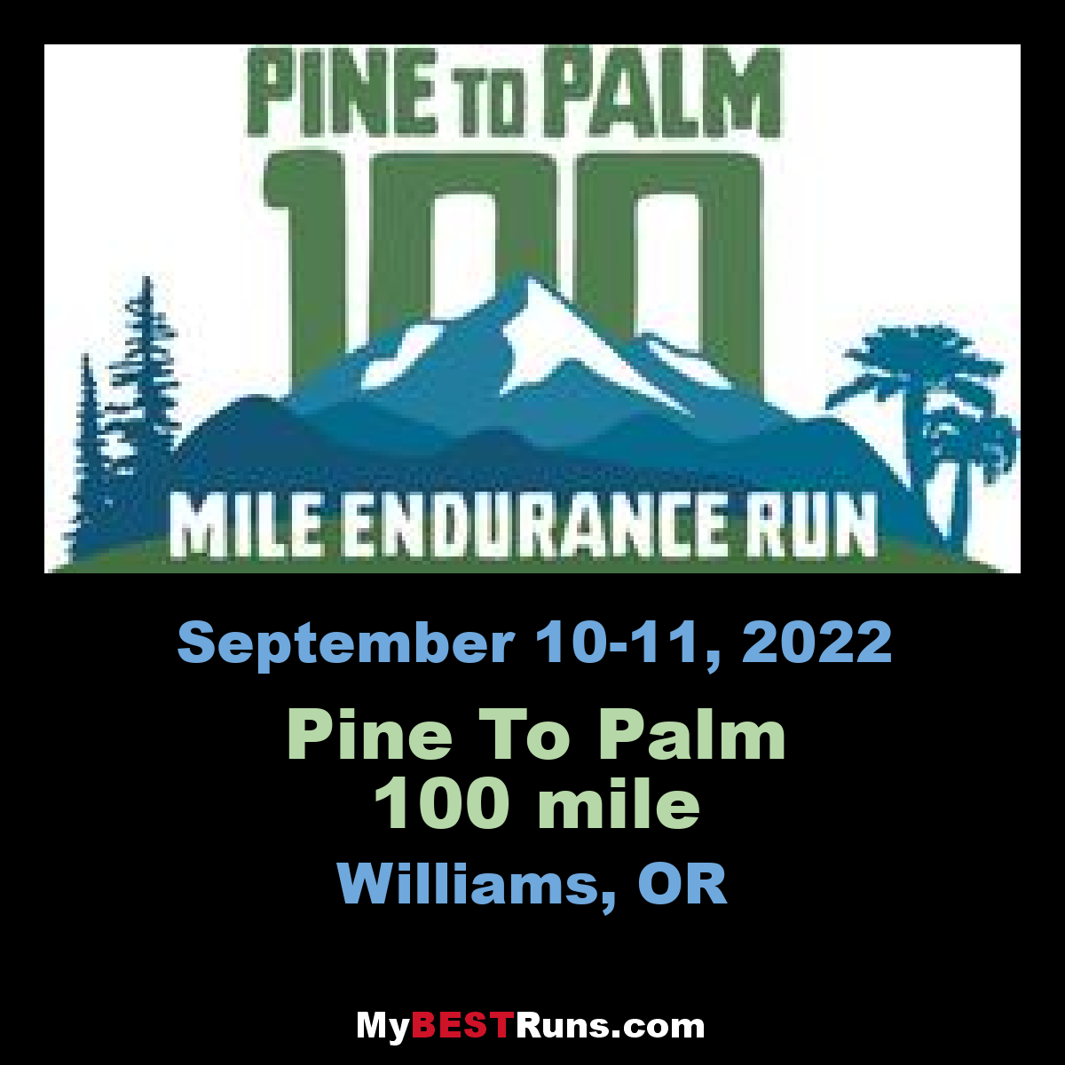 Pine To Palm 100 mile
