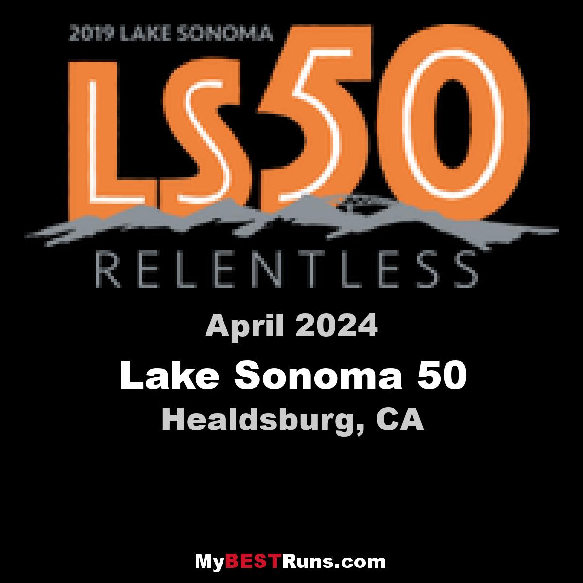 Lake Sonoma 50