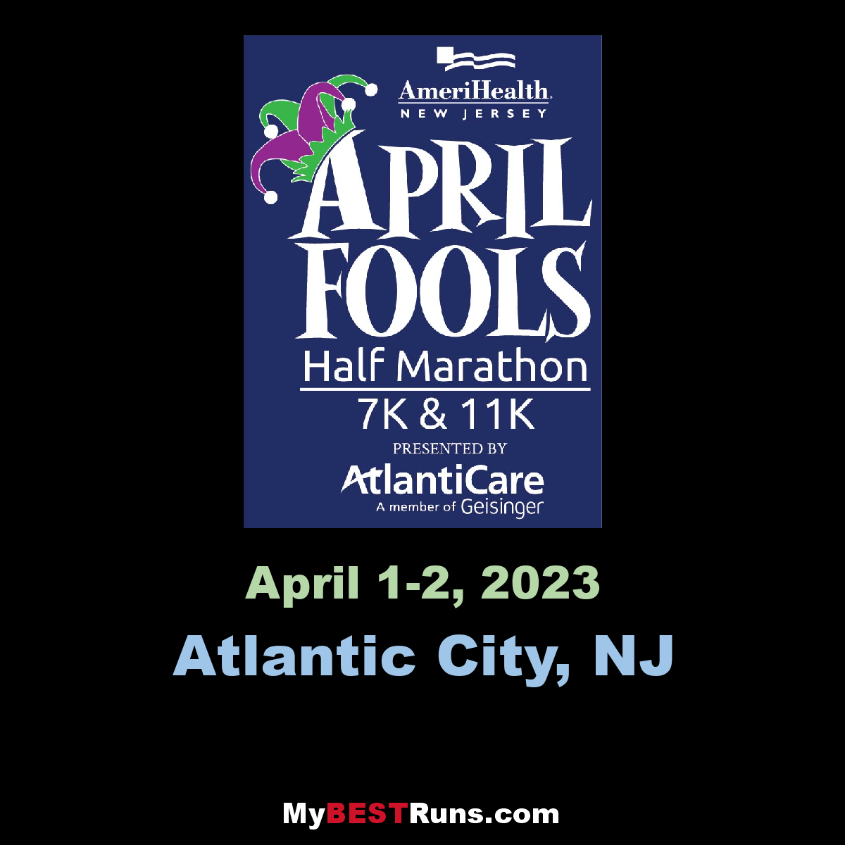 Best April Fools 2020.April Fools Half Marathon Atlantic City Nj 4 26 2020