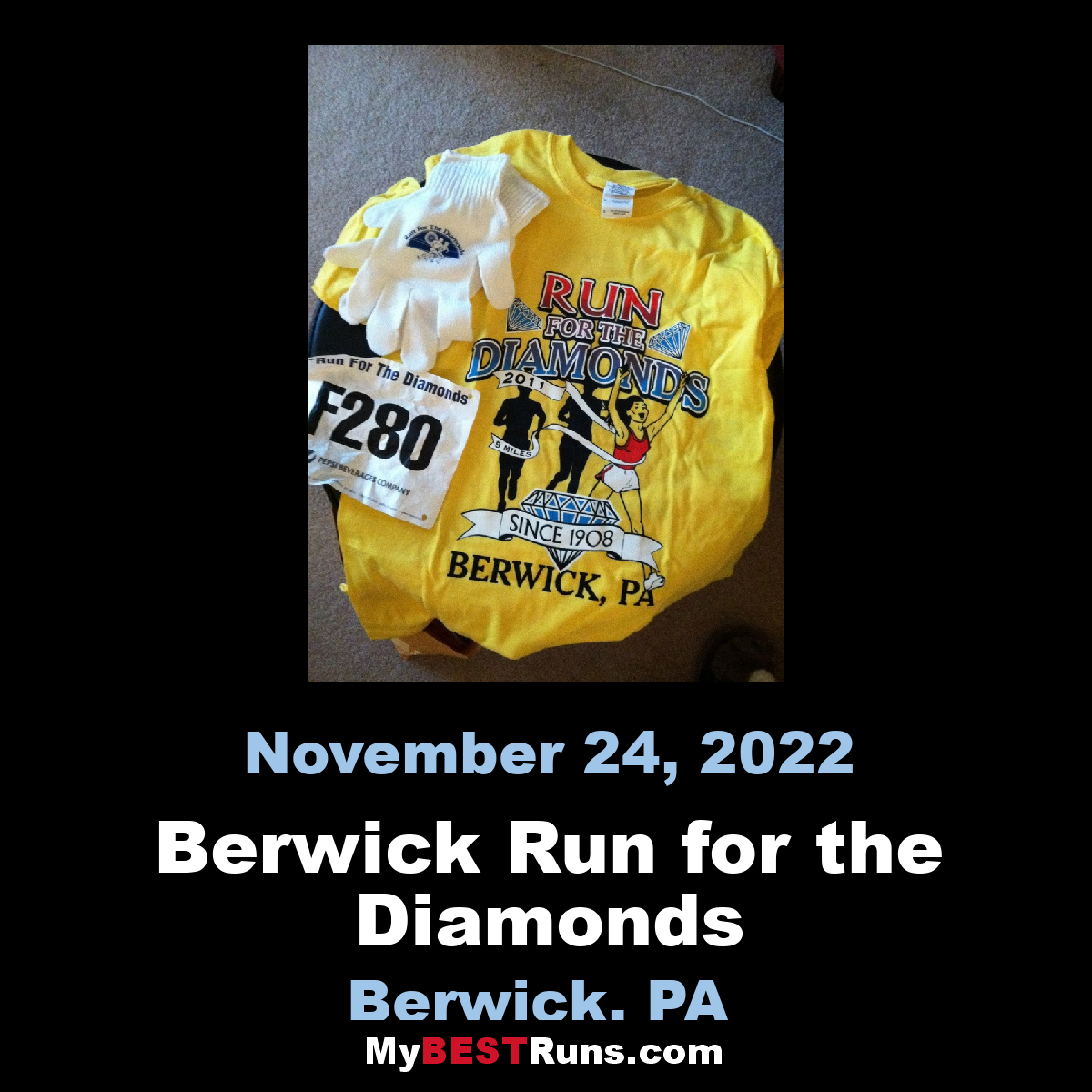 Berwick Run for the Diamonds