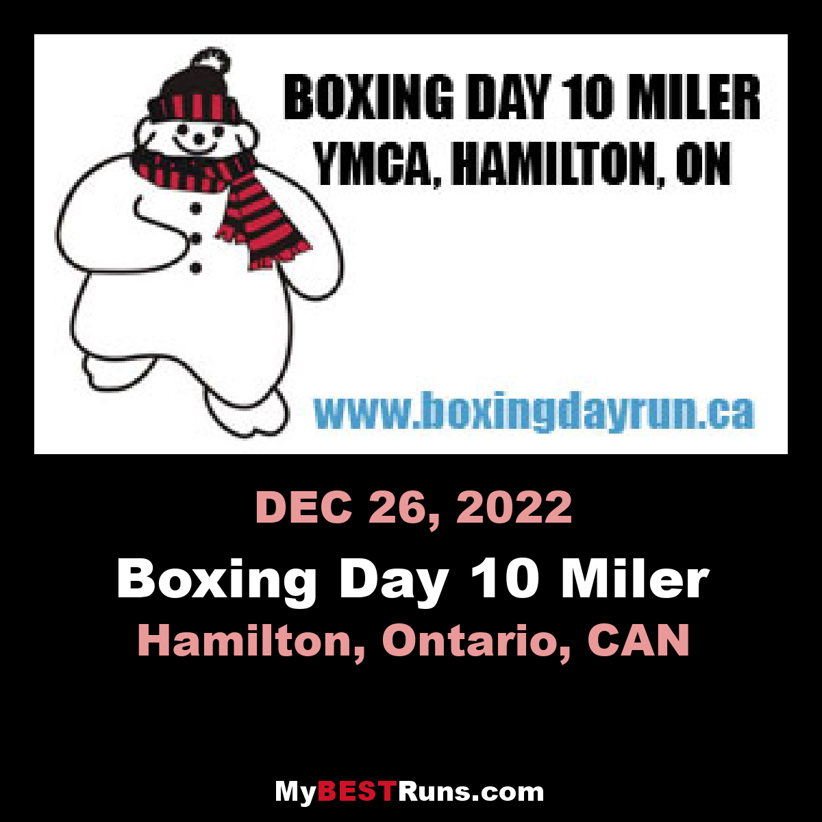 Boxing Day 10 Miler