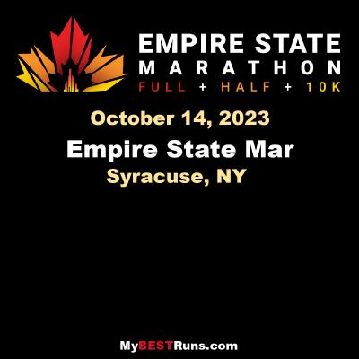 Empire State Marathon Syracuse Ny 10 10 2021 My Best Runs Worlds Best Road Races