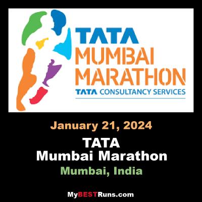 Tata Mumbai Marathon   Mumbai, India   5/30/2021   My BEST Runs