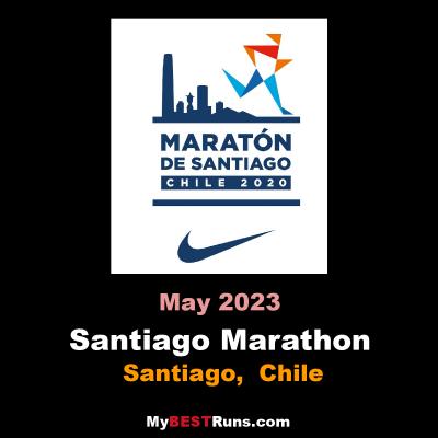Santiago Marathon Santiago Cl 4 1 2021 My Best Runs Worlds Best Road Races