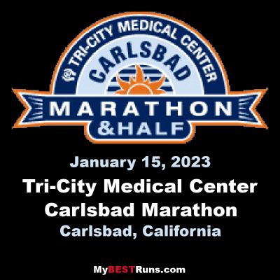 Tri-City Medical Center Carlsbad Marathon
