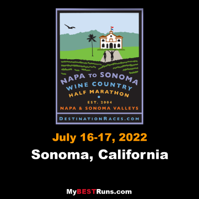 Napa to Sonoma Wine Country Half Marathon