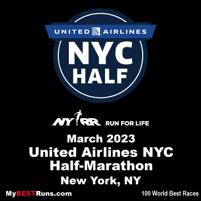 United Airlines NYC Half-Marathon