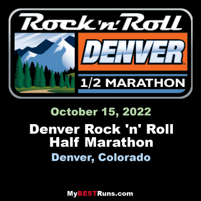 Denver Rock N Roll Half Marathon