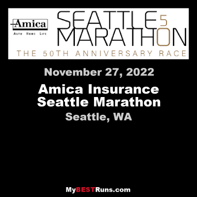 Amica Seattle Marathon