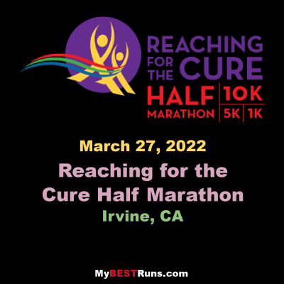Reaching for the Cure Half Marathon