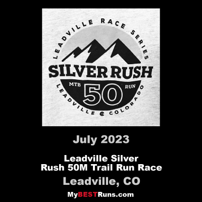 Leadville Silver Rush 50M Trail Run Race