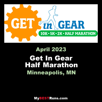 Get In Gear Half Marathon