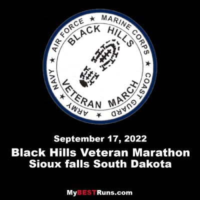 Black Hills Veteran Honor March and Marathon