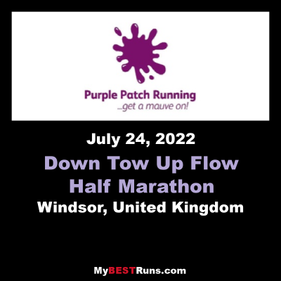 Down Tow Up Flow Half Marathon