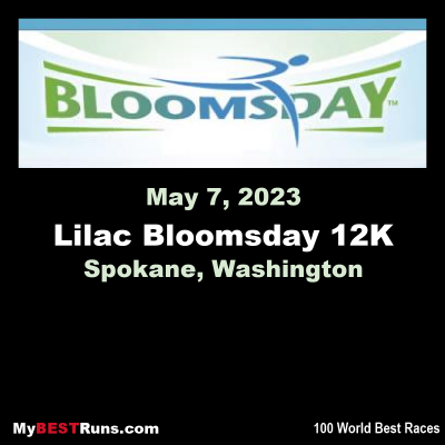 Lilac Bloomsday 12K