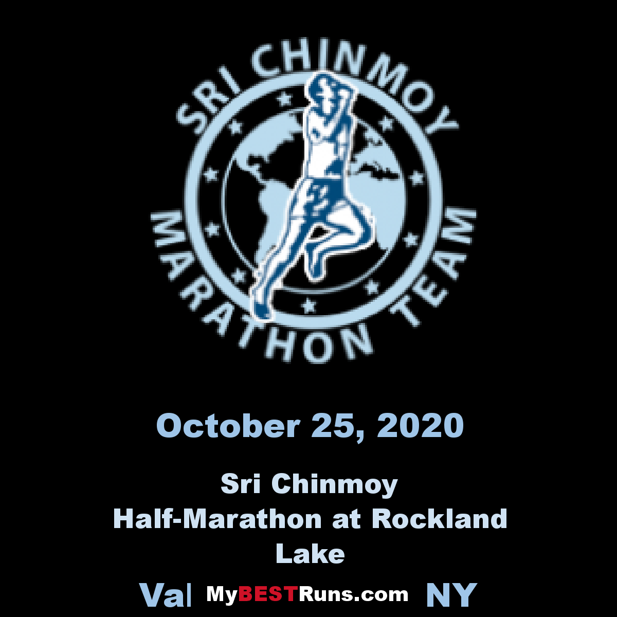 Sri Chinmoy Half-Marathon at Rockland Lake