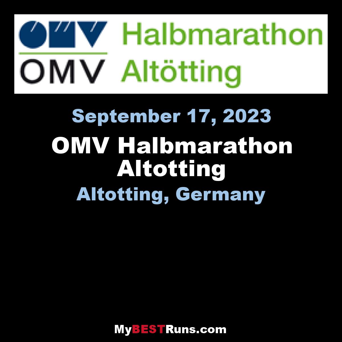 OMV Halbmarathon Altotting