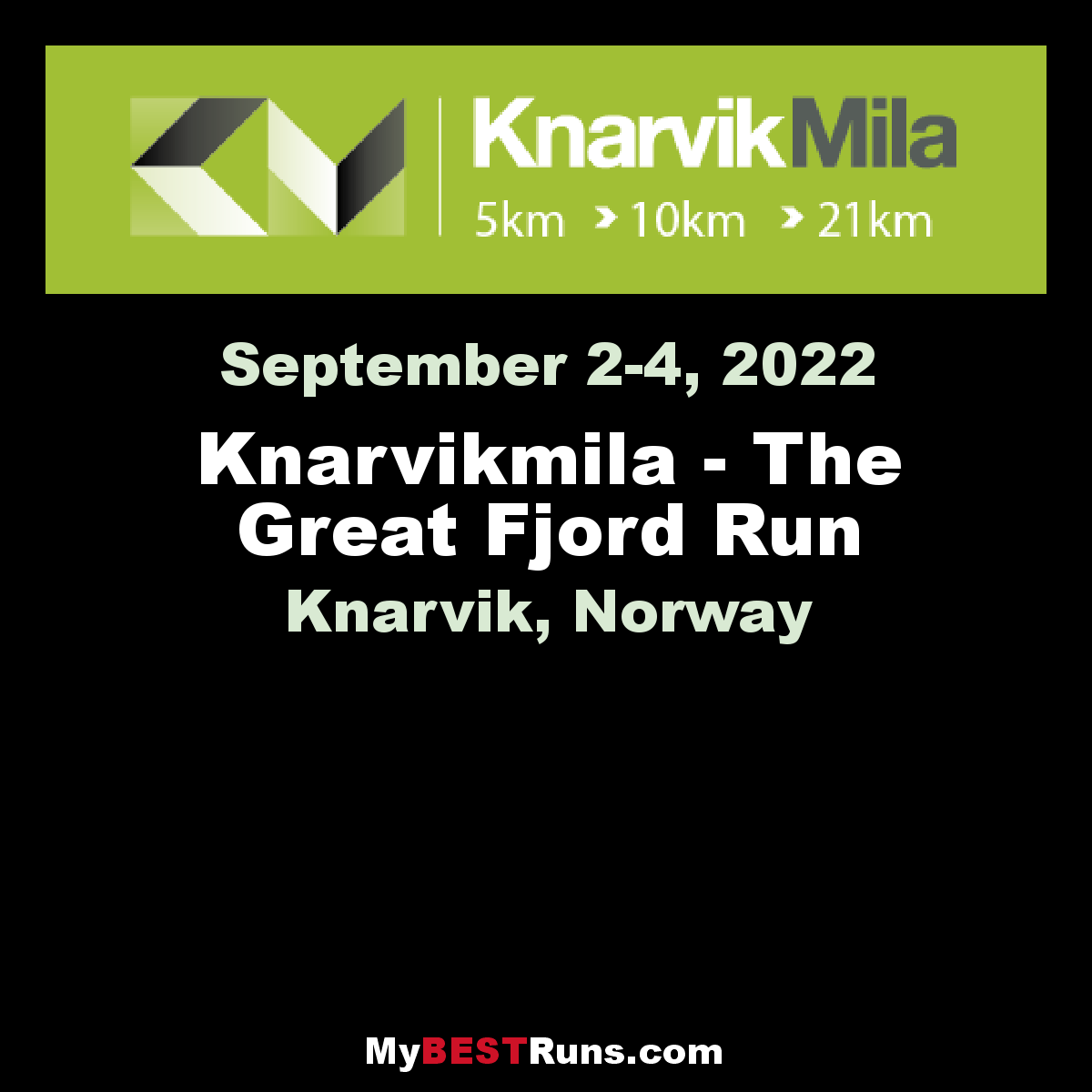 Knarvikmila - The Great Fjord Run