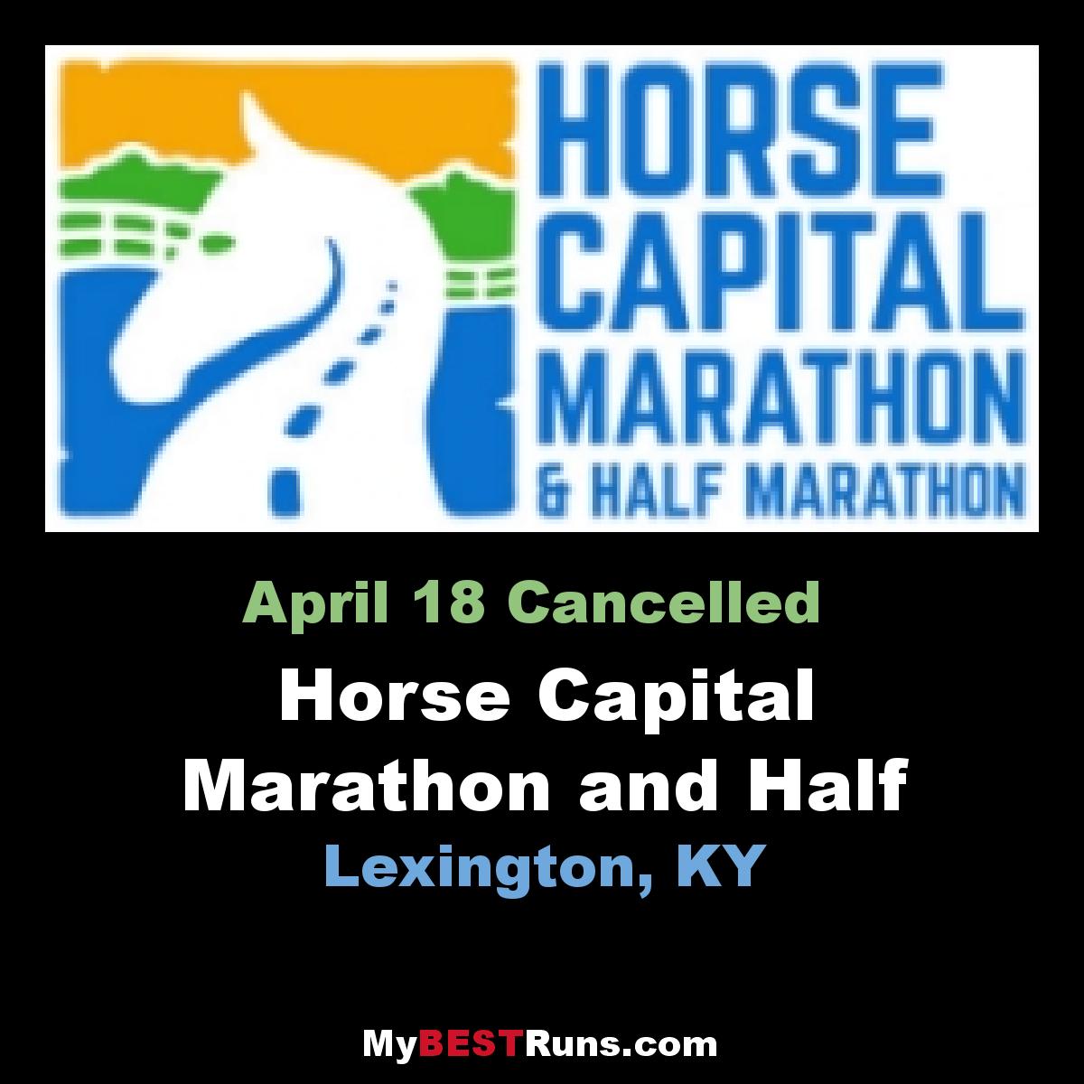 Horse Capital Marathon and Half Marathon