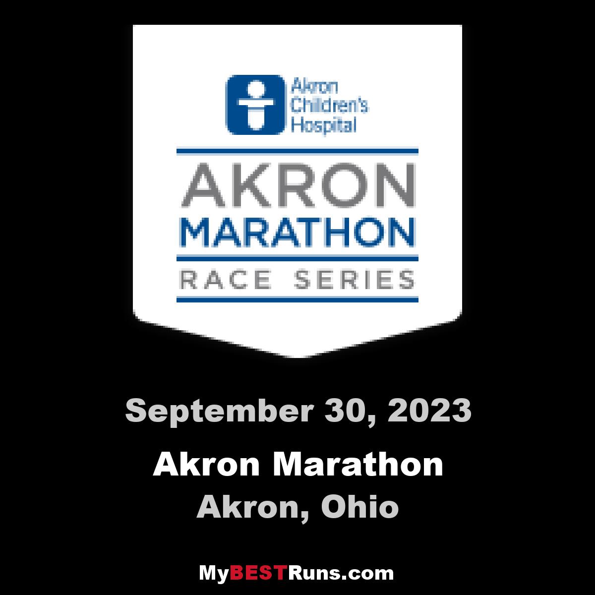 Akron Marathon Race Series