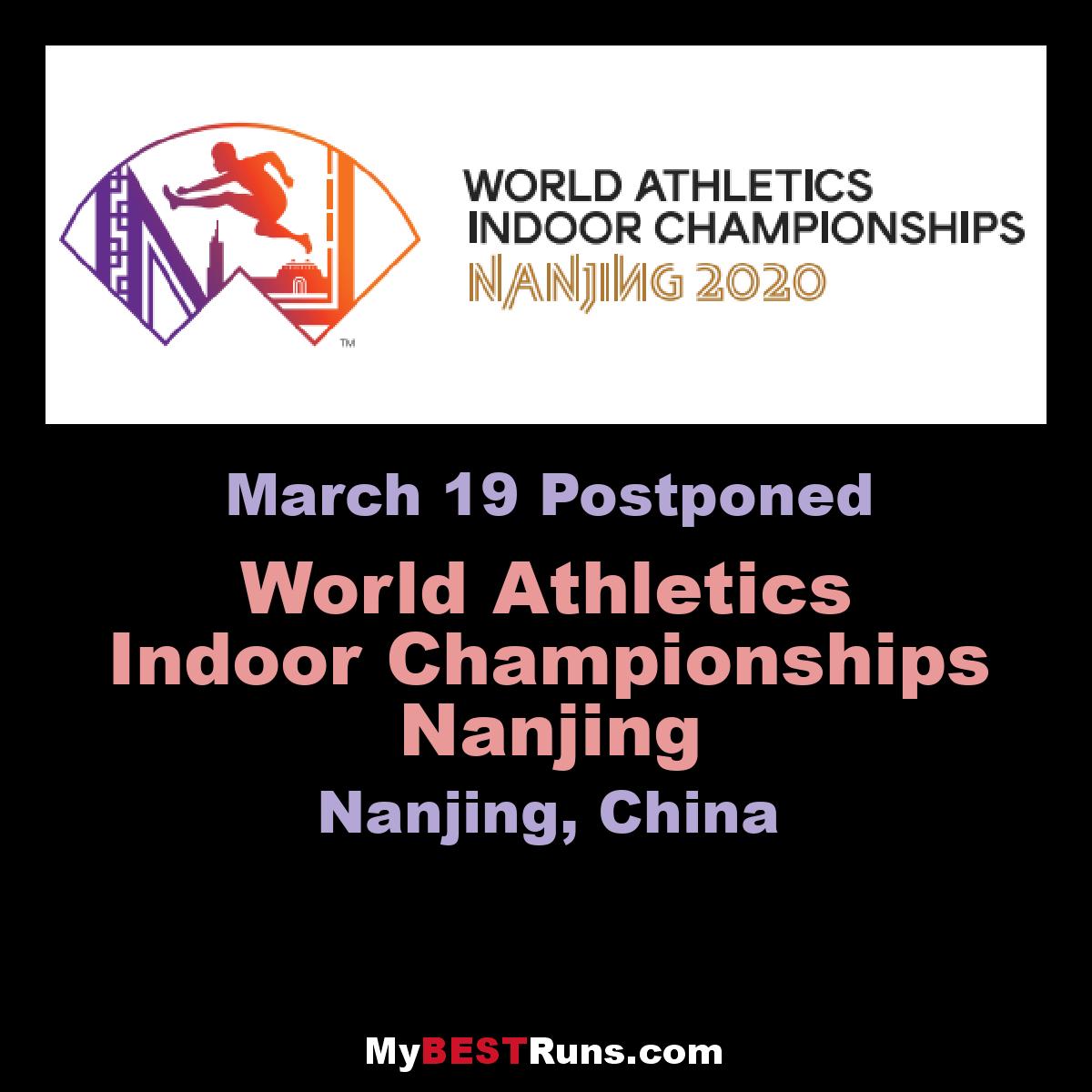 World Athletics Indoor Championships Nanjing