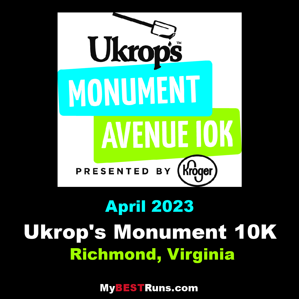 Ukrop\'s Monument Avenue 10K - Richmond, Virginia - 4/13/2019 - My ...