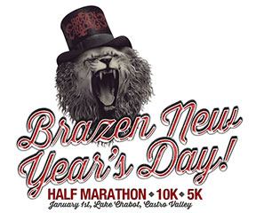 Brazen New Year's Day Half Marathon